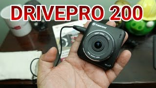 Transcend DrivePro 200 Review - 1080p Dashboard Camera With WiFi For US$ 120 / PHP 6,000