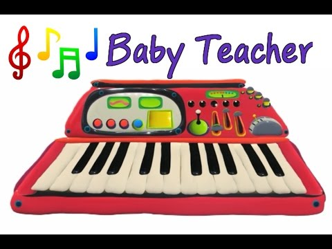 Musical Instruments Sounds for Kids – SYNTHESIZER | MusicMakers Episode 1 - From Baby Teacher