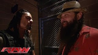The Shield comes face-to-face with The Wyatt Family: Raw, Feb. 24, 2014
