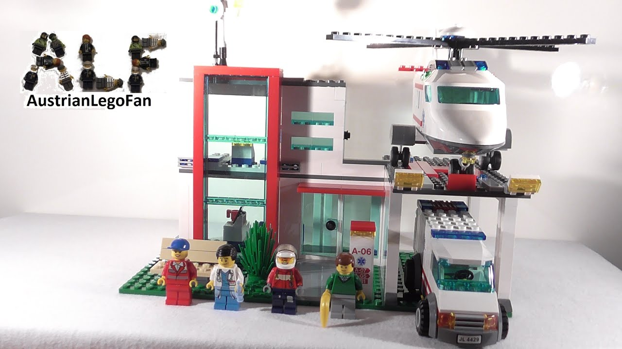 Lego City Helicopter Rescue