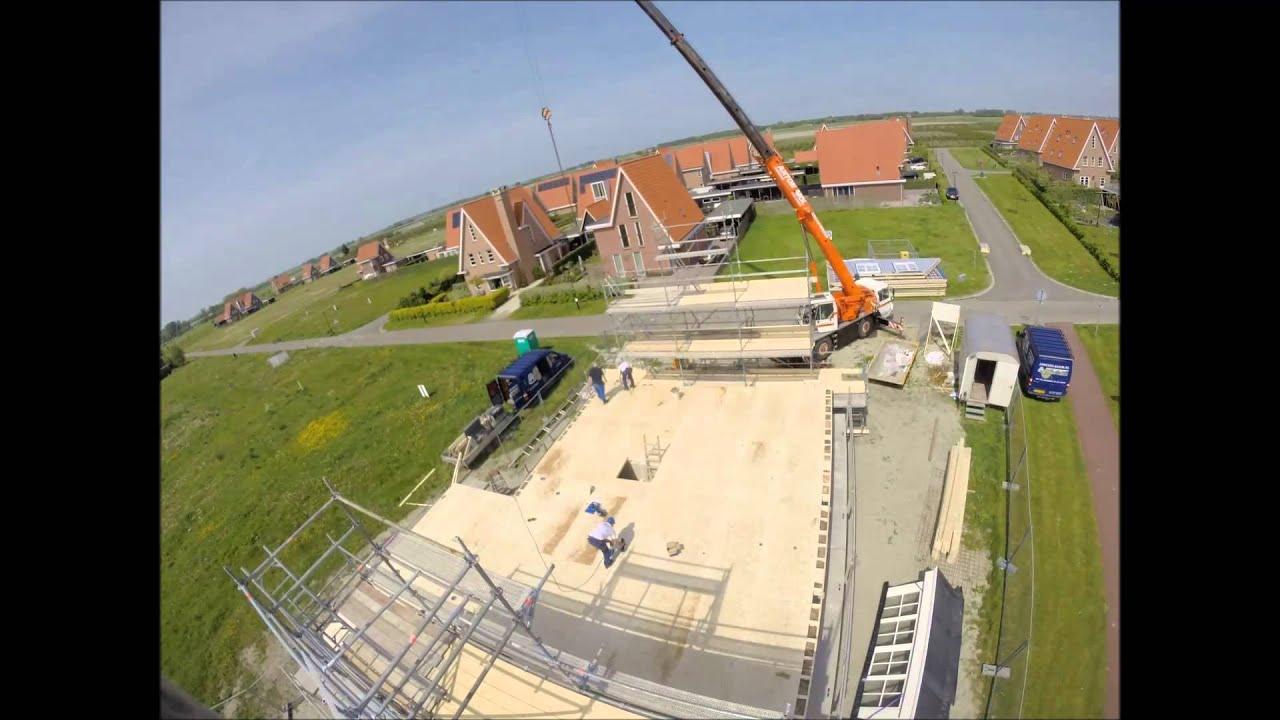 Opbouw prefab woning in zierikzee   youtube