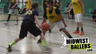 Max Wojcik SHREDS The Defense At The FCHEBL!!! 2015 PG With Handles And Game!