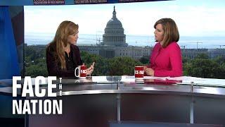Face The Nation: Condoleezza Rice, Samantha Power, Jeff Berardelli