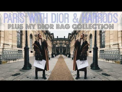 I WENT TO PARIS WITH CHRISTIAN DIOR & HARRODS PLUS MY DIOR BAG COLLECTION HAUL | IAM CHOUQUETTE