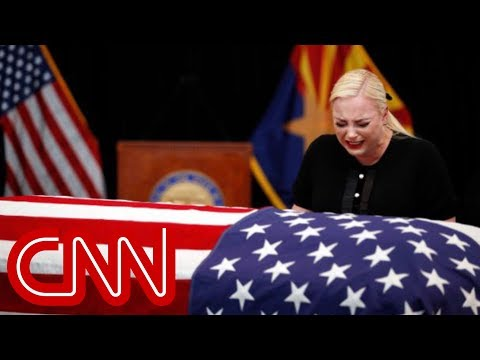McCain family bids tearful farewell