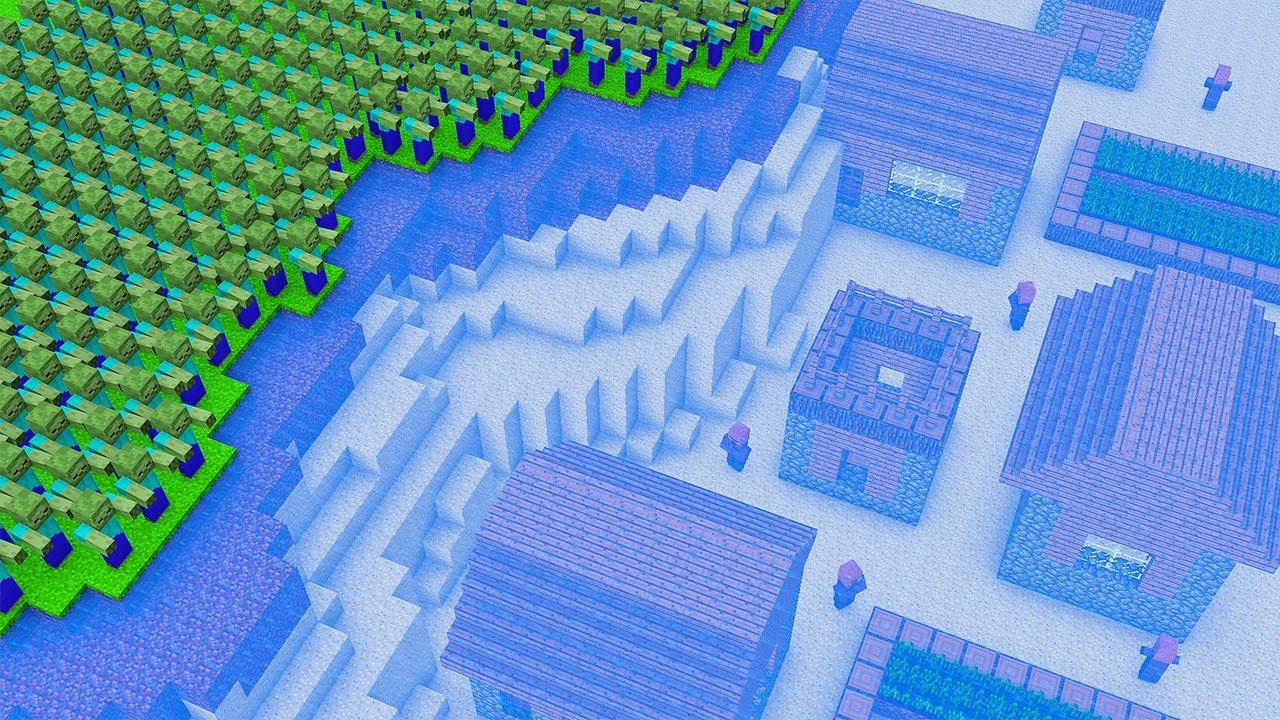ZOMBIE FOUND UNDERWATER VILLAGE - NOOB vs PRO vs HACKER / Animation Minecraft Battle