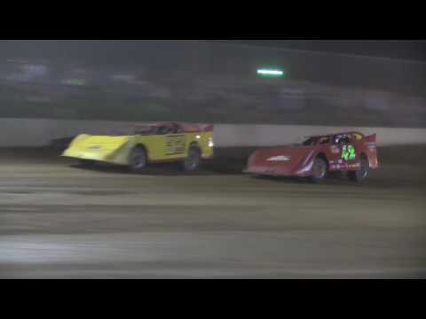 AMRA Late Model Heat #3 from Legendary Hilltop Speedway, August 19th, 2016.