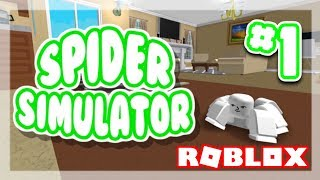 [#1] SPIDER-SPOODER IST WEIRD!! (Spider Simulator) | Roblox Gameplay