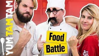 Ist MELISSA jetzt BLOND? // Food Battle #5 // #yumtamtam