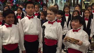 Southern California Children's Chorus - Apprentice Chorus performing at Main Place Mall