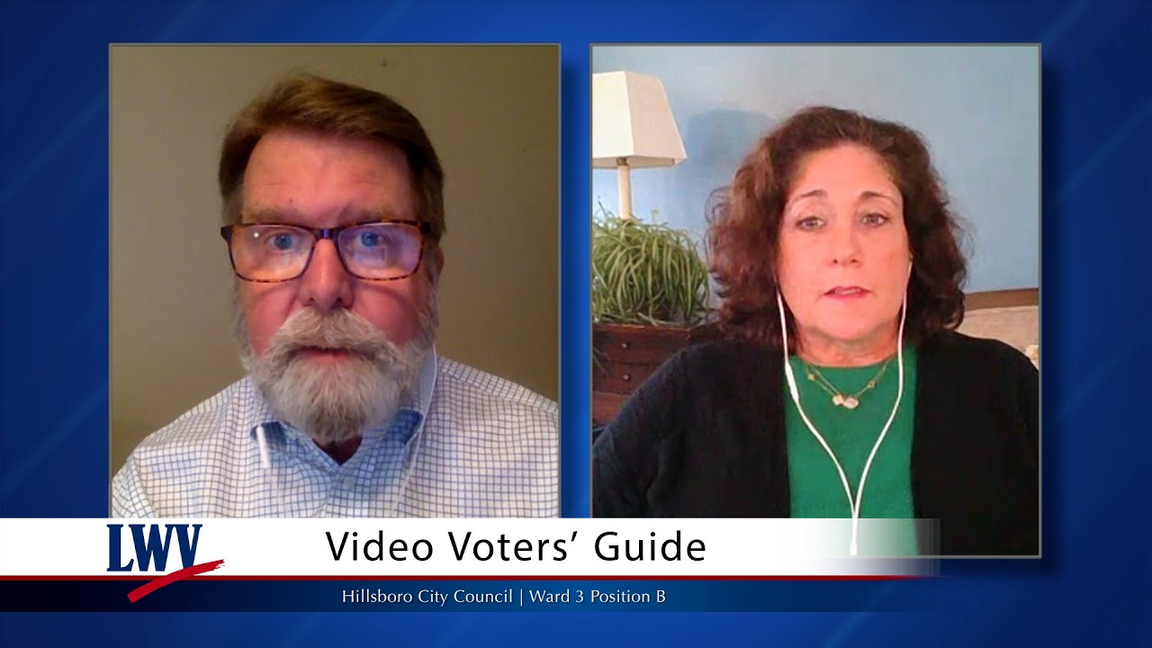 Video Voters Guide: Kimberly Culbertson - Hillsboro City Council | Ward 3 Position B