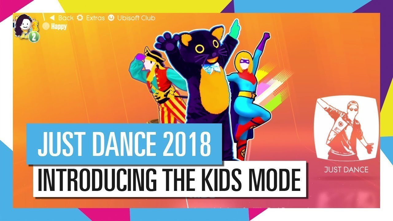 Just Dance 2018 Kids Mode Introduction Youtube