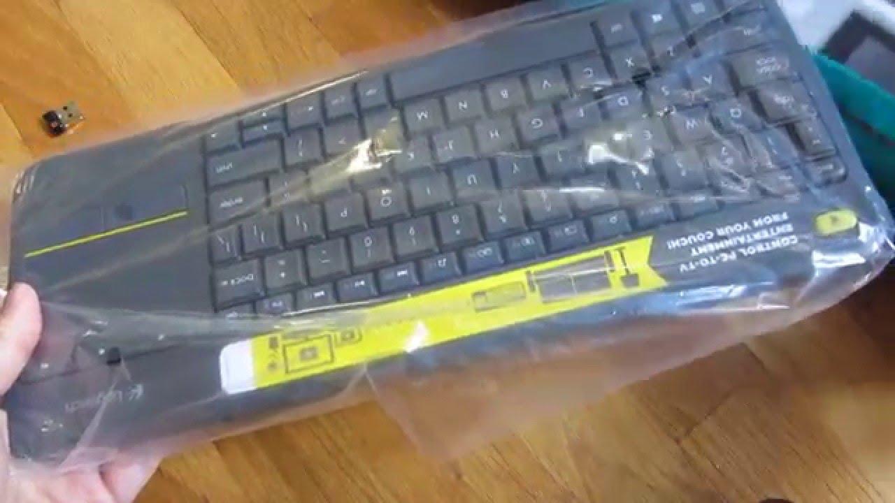 Logitech Wireless Touch Keyboard K400 Plus (Unboxing)