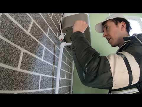 Установка водонагревателя в частном доме своими руками