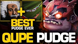 Qupe Pudge GOD - THE BEST PUDGE EVER - No One Can Escape From His Hook | Pudge Official