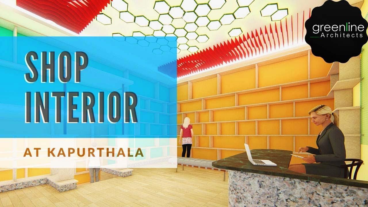 Shop Interior at Kapurthala, Lucknow by Greenline Architects & Interior designer