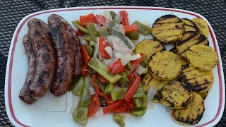 Sausage, Peppers, and Polenta - OH MY!