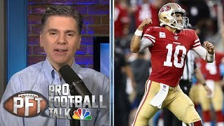 San Francisco 49ers outlast Arizona Cardinals, improve to 8-0 | Pro Football Talk | NBC Sports