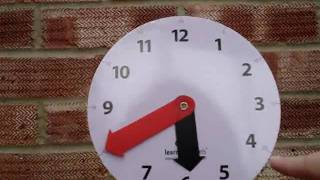 Learn How To Tell The Time Clock.mpg