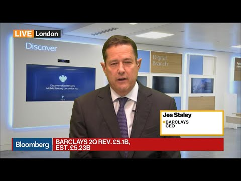 Barclay's CEO on Earnings, PPI Charges, Consumer Credit