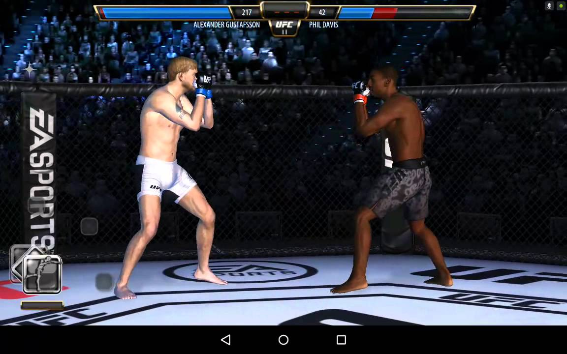ufc games for android mobile
