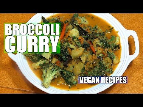 Broccoli Curry - Broccoli Masala - Vegan Recipes - Indian Recipes in English