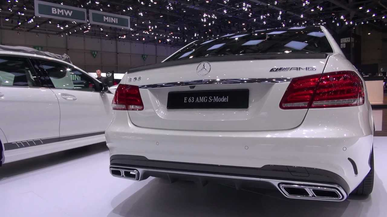 Mercedes C63 Amg 0 60 >> Mercedes C63 AMG Edition 507 and E63 AMG S 4-Matic Pearl White at Geneva Salon 2013 - YouTube