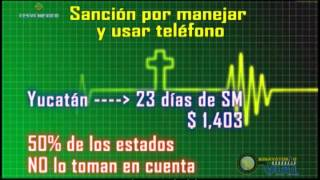 Sanciones por Conducir y Usar el Teléfono Celular