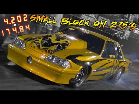 GOLD DUST - FLETCHER COX - SMALL BLOCK SINGLE TURBO ON 275's!