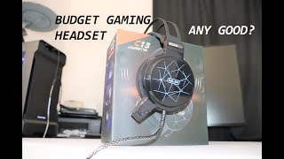 Sub $30 USD Gaming Headset, Is It Any Good ? Hizek Gaming C13