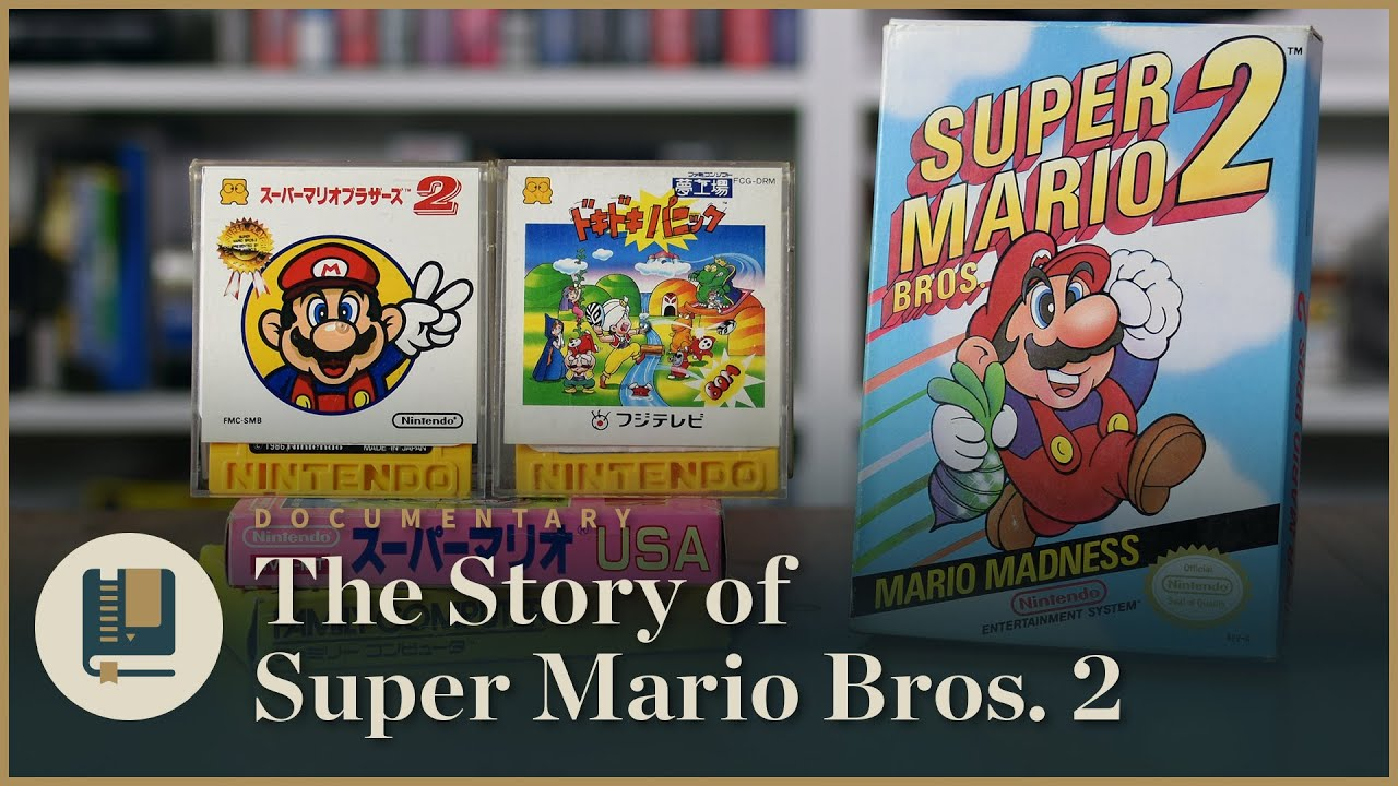 History Counts: Stop Shitting on Super Mario Bros  2 - Lumpz