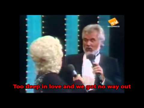 Kenny Rogers & Dolly Parton~Island In The Stream with lyrics(Best Version On Youtube)