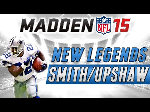 MUT 15 - Legendary Emmitt Smith and Gene Upshaw - Madden 15 Ultimate Team Pack Opening