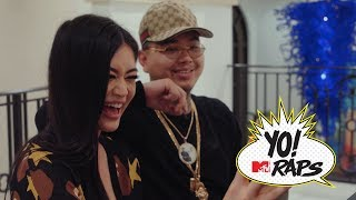 $tupid Young chows down on spicy food and shoots hoops with Kim Lee in LA (Yo! MTV Raps)