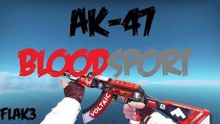 AK-47 Bloodsport HD Para CS 1.6 | Novos Sons do CS:GO! |