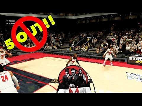 Can You Win With Little to No 5 Out | NBA 2K18 Pro AM