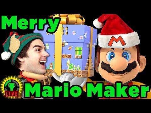 A Very Merry Mario Maker!