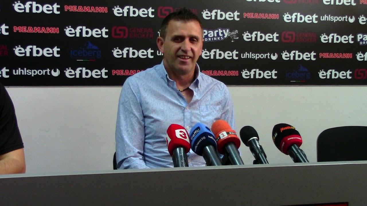 LokomotivTV: Бруно Акрапович преди финала с Ботев