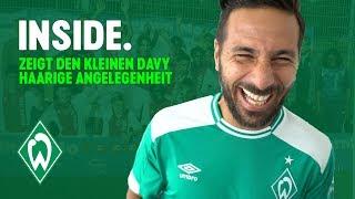 Warum lacht Claudio Pizarro über Davy Klaassen? WERDER.TV Inside vor 1. FC Nürnberg