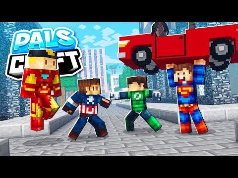 CAPTURE THE FLAG (Super Hero Mod Edition) | PalsCraft Season 2 - Episode 5