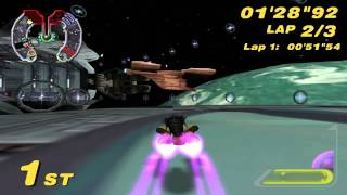 Star Wars: Super Bombad Racing (PS2) walkthrough - Droid Control Ship