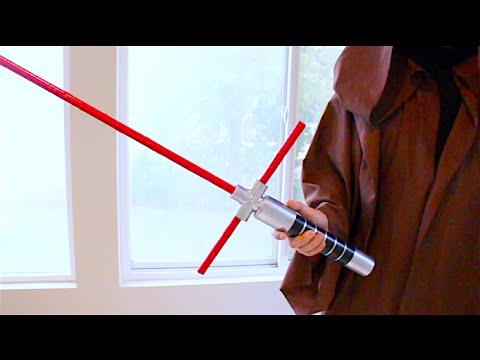 How To Make Kylo Ren's Crossguard Lightsaber!