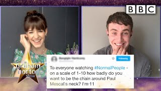Normal People stars shock by weird viral fame | The Graham Norton Show - BBC