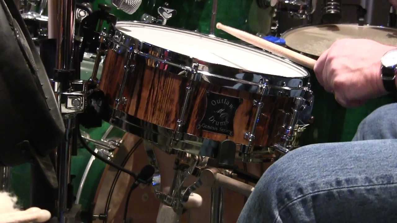 outlaw drums sound samples 5 x14 snare drum low tuning youtube. Black Bedroom Furniture Sets. Home Design Ideas