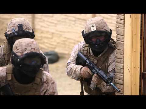 Waltzing the Devil Dog Way — Marines Training Sailors