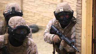 Waltzing the Devil Dog Way — Marines Training Sailors