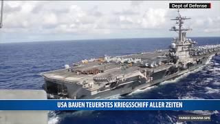 USA Bauen Teuerstes Kriegsschiff Aller Zeiten