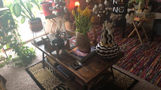 How to create an Afrocentric Coffee Table Decor part 2