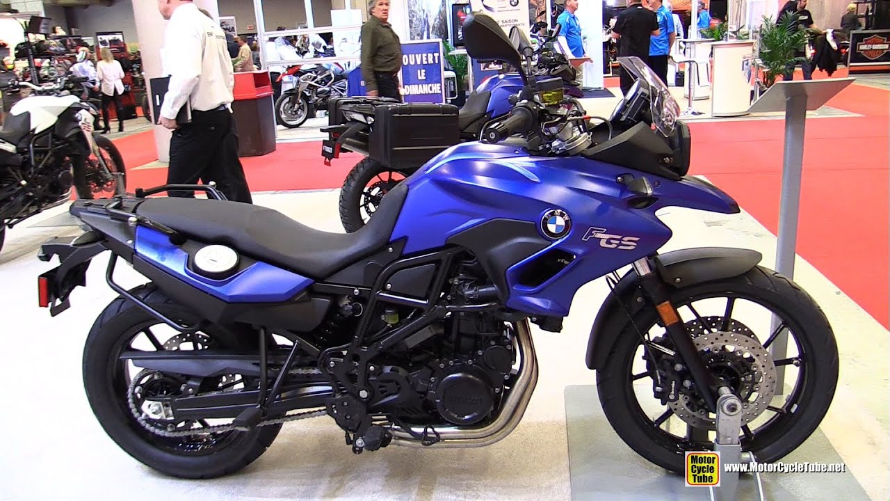 2015 bmw f700gs walkaround 2015 salon moto de montreal. Black Bedroom Furniture Sets. Home Design Ideas