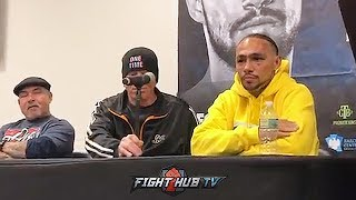 KEITH THURMAN VS JOSESITO LOPEZ - THE FULL POST FIGHT PRESS CONFERENCE VIDEO